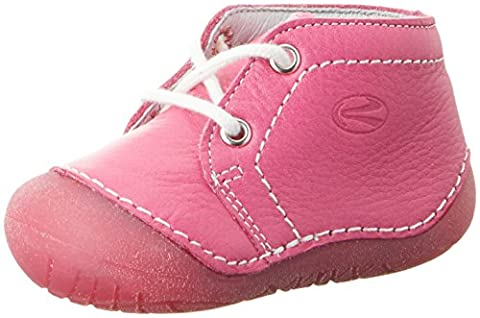 Richter Kinderschuhe Baby Mädchen Richie Krabbelschuhe, Pink (Fuchsia), 19 EU