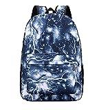Tatis Bag Neutral Rucksack Star Print Umhängetasche Große Kapazität Computer Bag Outdoor Freizeit Sporttasche Nylon Wearable