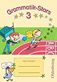 Grammatik-Stars: 3. Schuljahr - Übungsheft: Mit Lösungen
