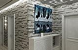 3d stein Tapete Kultur ziegel Aufkleber Für schlafzimmer wohnzimmer tv hintergrund Wandaufkleber Bekleidungsgeschäft abstrakt-A 53x1000cm(21x394inch)