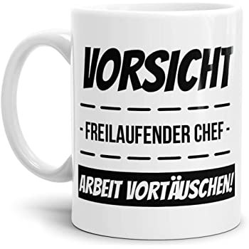 """Arschloch denken/"""" Lächeln Fun // Arbeit // Büro // Lustig Spruch-Tasse /""""Nicken"""