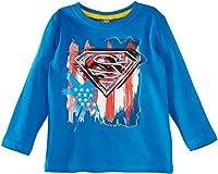 Superman HM1096 Boy's T-Shirt Light Blue 6 Years