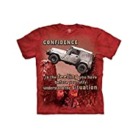 The Mountain Jeep Outdoor Child T-Shirt, Red, Small