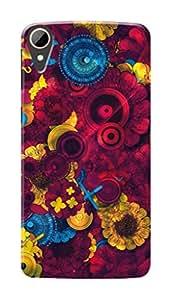 Marklif Premium Printed Cool Case Mobile Cover for HTC Desire 830