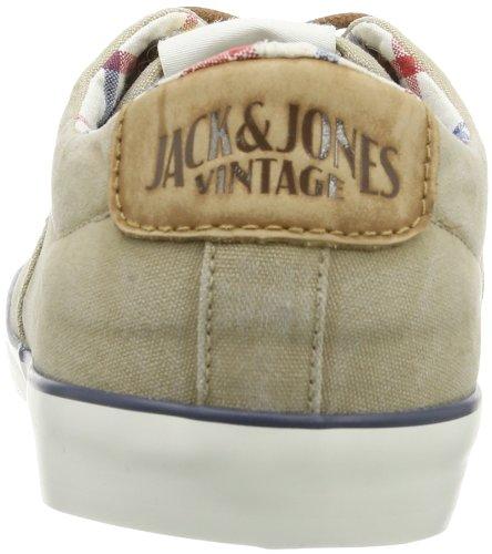 Jack & Jones Jj Surf Canvas Shoe Jjvc, Baskets mode homme Ivoire (Cornstalk)