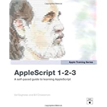Apple Training Series: AppleScript 1-2-3 1st edition by Soghoian, Sal, Cheeseman, Bill (2009) Paperback