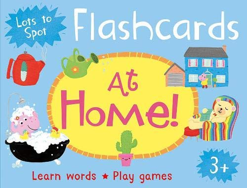 Lots to Spot Flashcards: At Home! por Belinda Gallagher