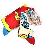 Wonder Woman Calcetines con diseño, 2 unidades
