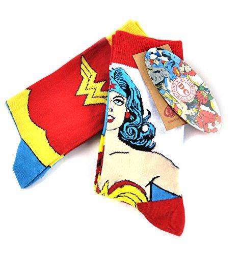 Wonder Woman Calcetines con diseño