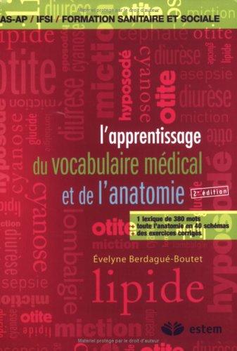 L'apprentissage du vocabulaire médical et de l'anatomie