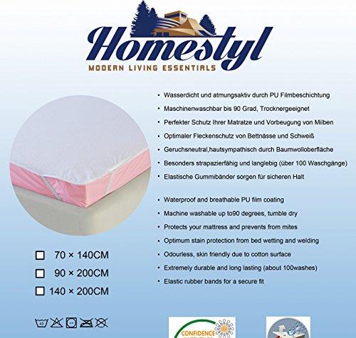 Coprimaterasso-resistente-allacquaAntiacaroAntibattericocertificato-OEKO-TEX-100Protezione-materasso