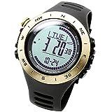 [Lad Wetter] Armbanduhr 3-Achsen-Beschleunigungsmesser Sensor Höhenmesser Alarm Wetter Vorhersage Klettern/Laufen/Wandern/Outdoor Uhr