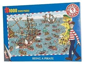 Paul Lamond - Puzzle - 1000 Pièces  - Où est Charlie? Pirate