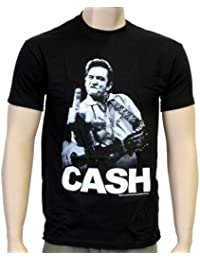 Coole-Fun-T-Shirts T-Shirt Johnny Cash - Flippin