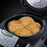 Russell Hobbs 21850-56 Cook@Home Multicooker (900 Watt, 5 l, 11 Kochprogramme, Anti-Kondensations-Deckel, Warmhaltefunktion) schwarz/silber - 4