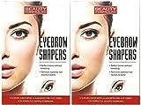 112 x Augenbraue Shaper vorgeschnitten Streifen (verschiedene Größen) Augenbrauen Wachsstreifen
