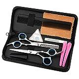 walmics Professional Haarschere-Set, 15,2cm Effilierschere Friseur Schere-Kit, Home oder Hair Salon Scheren Equipment Tool