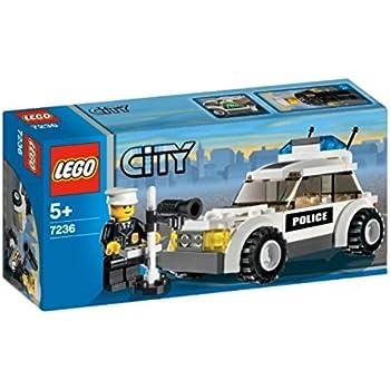 lego city jeu de construction la voiture de police jeux et jouets. Black Bedroom Furniture Sets. Home Design Ideas