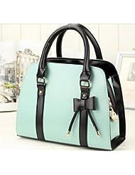 Sac à main élegant , sac femme classique, sac en plusieurs couleurs, sac Mode 2014 - Ciel Bleu
