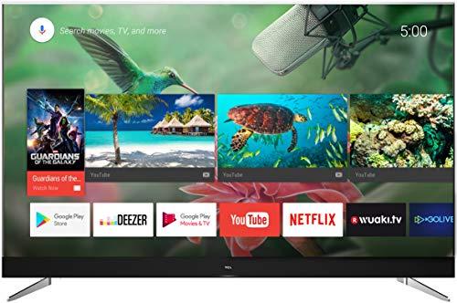 TCL U49C7006 Televisor 124 cm (49 pulgadas) Smart TV (4K, Android TV, HDR 10, Triple Tuner, Micro Dimming, sonido de JBL de Harman), Titanio [Clase de eficiencia energética A+]