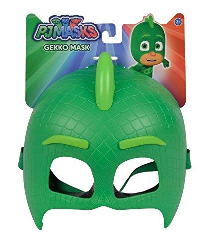 Simba - PJ Masks Maske Gecko / mit elastischem Gummiband / zum Verkleiden/ grün / 20cm, für Kinder ab 3 Jahren
