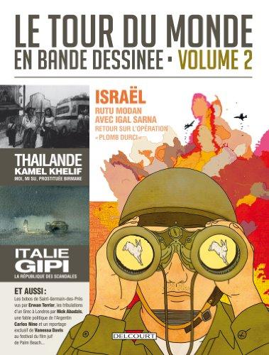 Le tour du monde en bande dessinée : Tome 2