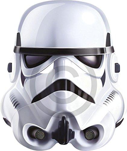 Ausgefallenes Halloween Kleid Party Welt Buch Wochentag Character Karte Das Gesicht Bedeckend Maske - Stormtrooper, One size