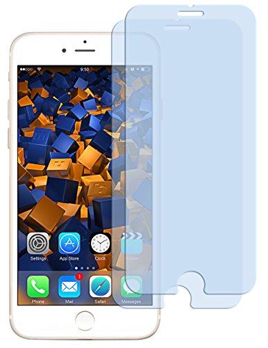 2x mumbi ECO Panzerglas für iPhone 7 Panzerfolie Glasfolie 9H