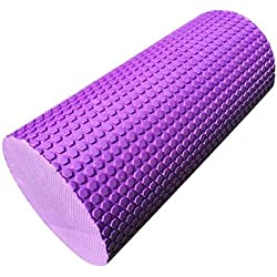 rodillo de yoga pilates en Sannysis rodillo de gimnasia 30 x 14.5cm (púrpura)