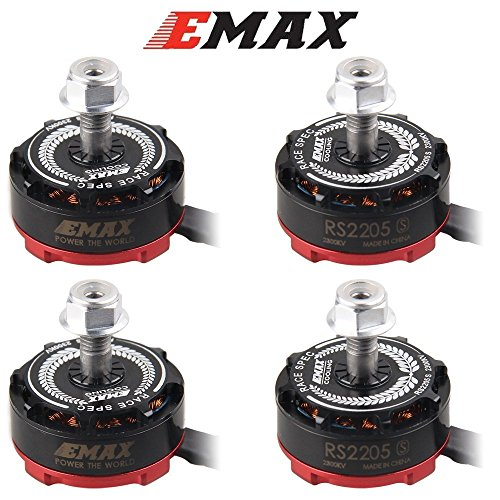 4pcs EMAX RS2205-S 2300KV Brushless Motor für X210 QAV250 QAV300FPV Race Drohne Quadcopter Frame