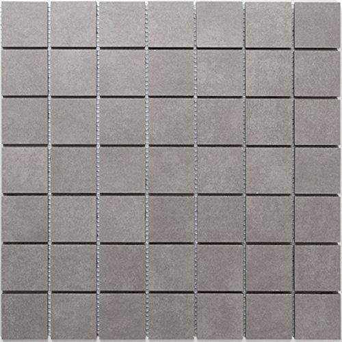 Serie Feinsteinzeug (Mosaik Feinsteinzeug Mosaikfliesen Serie Balkan Grau)