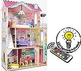 Leomark New Royal Mansion Doll Apart House Casa delle Bambole Sogno Mansion in Legno