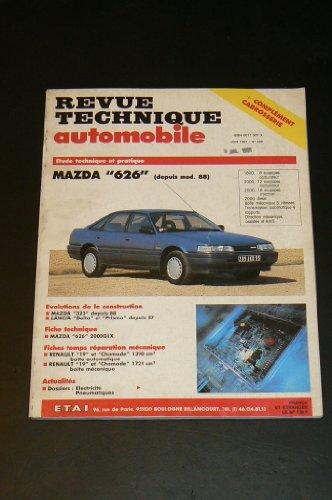 Revue Technique Automobile 528.1 Mazda 626 (Tous Types Depuis 88-Sauf 4x4) par Etai