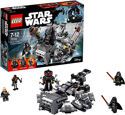 LEGO Star Wars - La transformation de Dark Vador - 75183 - Jeu de Construction