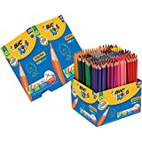 BIC Kids 907901 Evolution Buntstifte Set, Metalleimer mit 288 Buntstiften