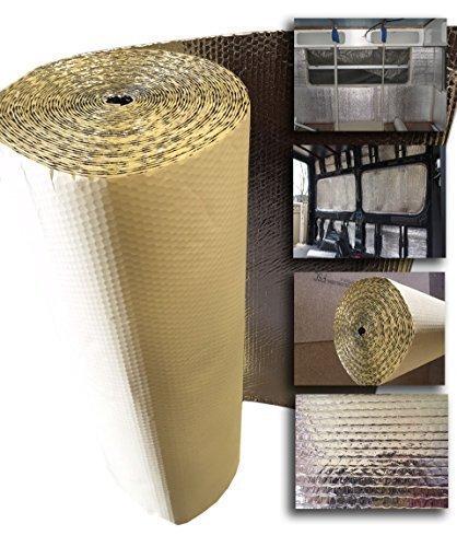 Preisvergleich Produktbild 15 x 1, 05 m Thermo-Isolationsfolie,  selbstklebend,  ideal für Wohnmobil,  Wohnwagen,  Garage,  Gewächshaus