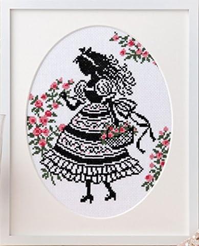 Orimupasu made cross stitch embroidery kit