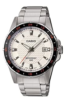 Casio Men's Analogue Mechanical Watch with Stainless Steel Bracelet MTP-1290D-7AVEF (B001TK3CPK) | Amazon price tracker / tracking, Amazon price history charts, Amazon price watches, Amazon price drop alerts