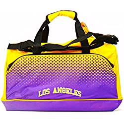 NBA Fade Small Holdall Bag, LOS ANGELES LAKERS