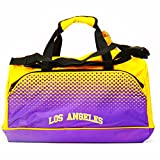 NBA Los Angeles Lakers Mens Official Fade Holdall Bag (One Size) (YellowPurple)