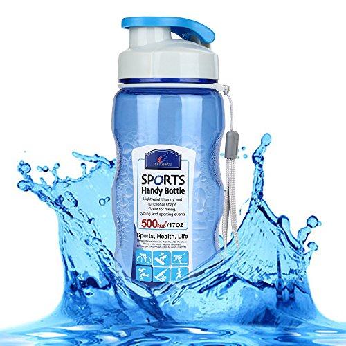 FORYULIK 2019 Nuovo Bottiglia dAcqua Sportiva,Senza BPA,Riutilizzabile Borraccia in Plastica Ideale,Leak Proof BPA Free