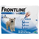 Frontline Spot On Dog 6 Pipettes 10 - 20 Kg.