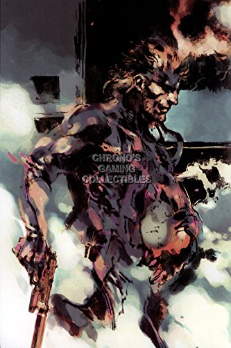 CGC Große Poster–Metal Gear Solid Snake PS1PS2PS3PS4–ext080, 24