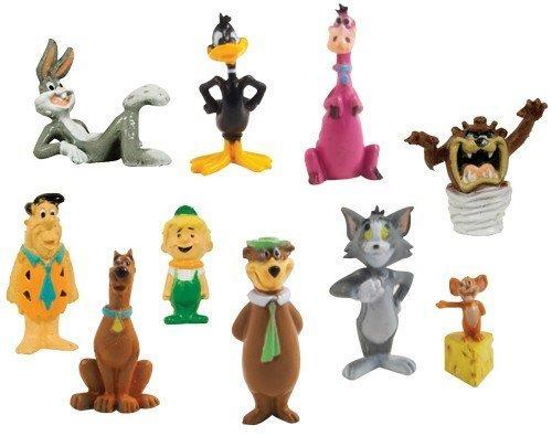 hanna-barbera-loony-tunes-classic-cartoon-charater-mini-figure-vending-toy-set-of-10-fred-flinstone-