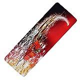 ORPERSIST Weihnachtsthema Teppich, Wasseraufnahme Rutschfeste Fußkissen Wohnzimmer Schlafzimmer Badezimmer Küche Türmatte, A40 Stil