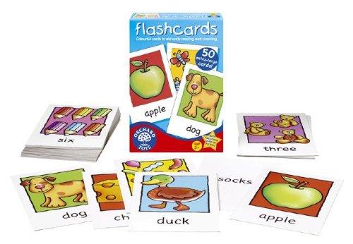 Orchard Toys Disegni e parole (Flashcards), Gioco di carte educativo [Lingua inglese]