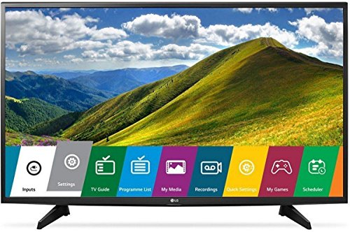 LG 123 cm (49 Inches) Full HD LED TV 49LJ523T (Black) (2017 model)