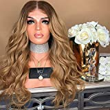 La Longue Vague De Cheveux Longs Bouclés De Femmes De Veste De Cheveux Faux A Teint Des Cheveux De Fibre Chimique
