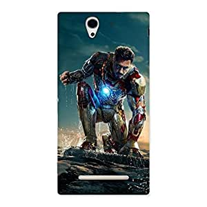 Premier Preparation Back Case Cover for Sony Xperia C3