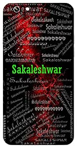Sakaleshwar (Ord Of Everything) Name & Sign Printed All over customize & Personalized!! Protective back cover for your Smart Phone : Samsung Galaxy S6 Edge